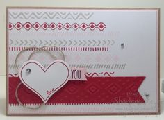 Bohemian Borders, You're So Sweet & Boho Chic by Stampin' Up! Www.magpiecreates.com