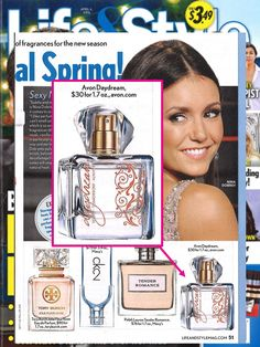 Life & Style Magazine shared their top scents for spring and featured our Today Tomorrow Always Daydream Fragrance! | Shop https://www.avon.com/product/53702/amour-eau-de-parfum-spray?c=SocialMedia&otc=Pinterest_1184298&s=SM_Pinterest_PDP&repId=15681902&c=SocialMedia&otc=Twittershare_1184298&s=SM_TwitterShare_PDP&repId=15681902 to order.