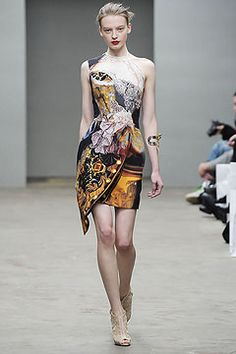 Mary Katrantzou Fall 2010 Ready to Wear