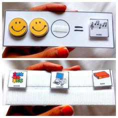 A pocket-sized token board I made for school shadowing! #ABA Find me at http://pinterest.com/wormyem/all-things-aba/