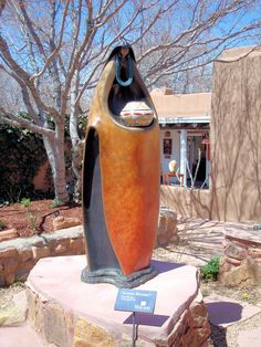 Bronze Sculpture, Canyon Road, Santa Fe, New Mexico New Mexico Santa Fe, Santa Fe Nm, Southwest Usa, Southwest Style, Native American Pottery, Native American Art, Bronze Sculpture, Sculpture Art, New Mexico Style