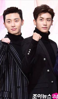 Park Seojun and ZE:A's Park Hyunsik