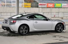 Toyota GT 86/Scion FR-S/Subaru BRZ joint venture. Very cool.