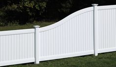 New Lexington S Curve Transition Panel - Bufftech - Fence - Fence, Decking and R. New Lexington S Vinyl Fence Panels, Privacy Fence Panels, Vinyl Fencing, Front Yard Fence, Fenced In Yard, Yard Design, Fence Design, Post And Rail Fence, Outside Steps