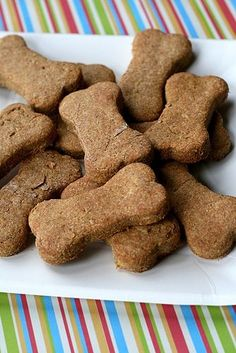 Dog Treats- I have the ingredients. Gonna try them. My dogs deserve a treat. I've been a neglectful Momma.