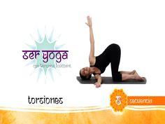 Ser Yoga -Secuencia 46   Torsiones