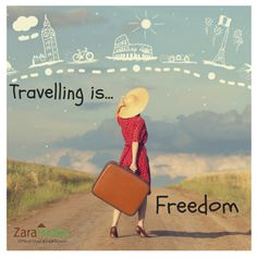 What does travelling mean to you? Share with us  ‪#‎zarahutke‬ ‪#‎travel‬ ‪#‎vacation‬ ‪#‎funtime‬ ‪#‎relax‬ ‪#‎weekend‬ ‪#‎getaway‬ ‪#‎familytime‬ ‪#‎Loveonce‬ ‪#‎trip‬ ‪#‎fun‬ ‪#‎masti‬ ‪#‎romanticdate‬ ‪#‎romanticplace‬