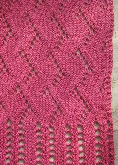 Free Pattern: Make a Difference Scarf by Tonia Barry
