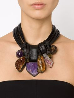 Monies Stone And Horn Necklace - Patron Of The New - Farfetch.com