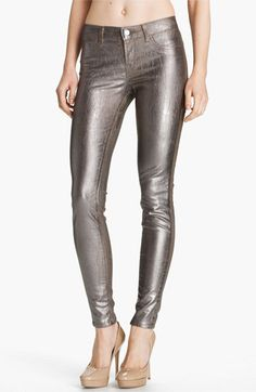 J Brand Stretch Denim Leggings-love these! Ladies wear these to your Holiday party with a jacket or silk blouse to protest the (not so cute), Christmas sweaters.