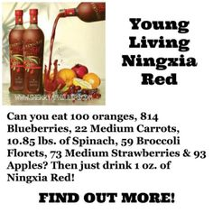 Ningxia Red by Young Living
