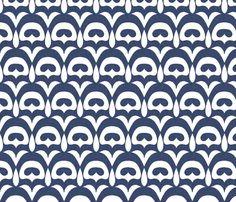 winter_flower fabric by holli_zollinger on Spoonflower - custom fabric