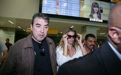 Gisele Bündchen desembarca em São Paulo para despedida das passarelas na SPFW. Foto: Raphael Castello/AgNews
