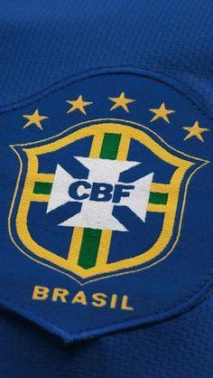 Brazil Away Crest Fifa Football, National Football Teams, World Football, Soccer World, Sport Football, Badges, Russia 2018, Soccer Fans, National Treasure
