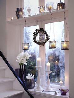 christmas window decor..