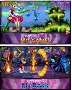 Rayman Classic Hit Games, Entertaining, Entertainment