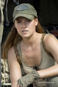 Ali Larter (as Claire Redfield in Resident Evil: Extinction)
