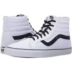 80cd731370 Vans hi reissue canvas true white black
