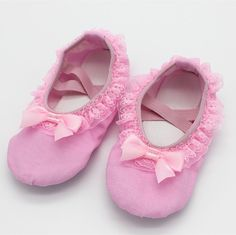 2016NEW Top Quality Comfortable Canvas Ballet Dance Flat Shoes Sweat Lace&Bowtie Tim Pink Dancing Shoes For Baby Girl 33259#-in Dance shoes from Sports & Entertainment on Aliexpress.com | Alibaba Group