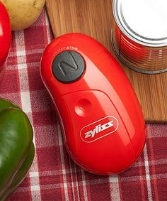 An electric can opener that fits in the DRAWER! High-Tech Gadgets for Housework - Bob Vila - Bob Vila Small Kitchen Appliances, Kitchen Gadgets, Red Kitchen, Kitchen Tools, Kitchen Ideas, Dry Cleaning At Home, Cool New Gadgets, High Tech Gadgets, Gadgets Intelligents