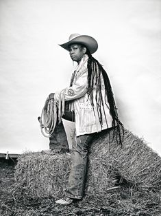 An exhibition on view at The Studio Museum in Harlem hopes to retire the persistent myth equating cowboys with whiteness.