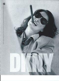 Rosemary McGrotha for DKNY 1990
