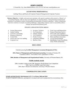 Entry level Financial Accountant resume template. Download it and make it your own.