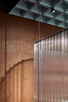 OMA& design for knoll pavilion at salone del mobile 2018 desognboom False Ceiling Living Room, Ceiling Design Living Room, False Ceiling Design, Design Hotel, Design Studio, Office Light, Interior Architecture, Interior Design, Tin Ceiling Tiles