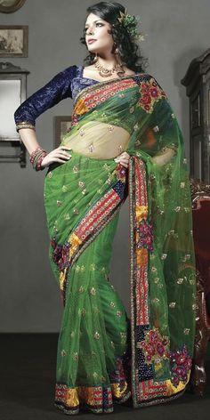 Mehndi Party Sari