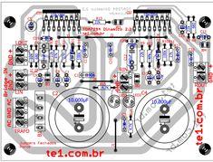 amplificador tda7294 placa potencia datasheet