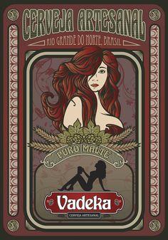 Banner para lançamento da Cerveja Vadeka