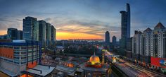 Bangsar South | Panorama #bangsar #panorama #kl #kualalumpur #highway #lightrail