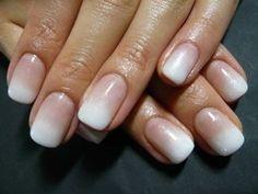 French ombré  manicure, very nice!