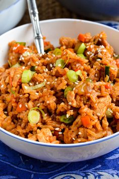Slimming Eats Low Syn Teriyaki Chicken and Rice Bowl - gluten free, dairy free, Slimming World and Weight Watchers friendly