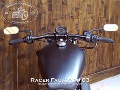 Guidon Drag-Bar RF#03 - Harley Davidson Sportster modèle Forty-Eight 1200 by Racer Factory