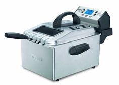 Shop a great selection of Waring Pro Professional Deep Fryer, Brushed Stainless (Renewed). Find new offer and Similar products for Waring Pro Professional Deep Fryer, Brushed Stainless (Renewed). Specialty Appliances, Small Appliances, Kitchen Appliances, Stainless Kitchen, Kitchen Gadgets, Baking Appliances, Best Deep Fryer, Digital Pressure Cooker, Electric Deep Fryer