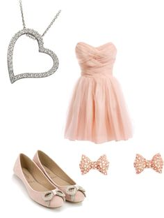 """""""spring fling dress """" by grace-tompkins ❤ liked on Polyvore in love with this dress"""
