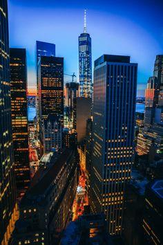 New York by Constantine Onishchenko