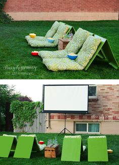 backyard theater Outdoor Movie Theater Seats