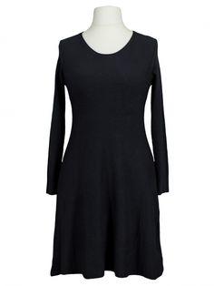 Damen Stricktunika A-Form, schwarz von Anny bei www.meinkleidchen.de