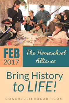 We have so much planned in February! The Homeschool Alliance is hopping! After a great start to the new year, we have found our groove and we want you to join in on the fun.
