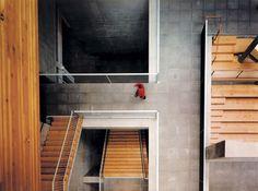 Contrast... :)   Allied Works - Wieden + Kennedy Headquarters, Portland OR 2001