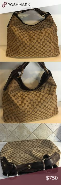 BRAND NEW AUTH GUCCI PURSE 100% authentic Cucci purse! New! Never been worn! Large size! Little heavy! No zipper, has a magnet clip! ❗️PRICE IS FIRM❗️ Gucci Bags Satchels