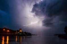 Ferrycarraig thunder storm by David Morrissey
