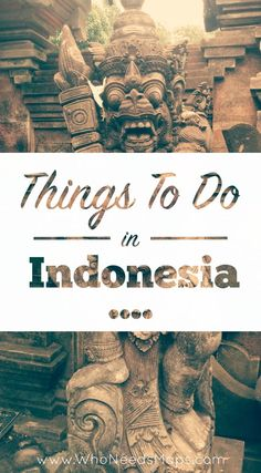 Read all about our trip to Indonesia, plenty to do and see. Not to be missed! - http://www.whoneedsmaps.com/destinations/indonesia/