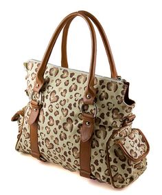 45bc37d3120e Brown Amore Diaper Bag, so effing cute. Baby Changing Bags, Changing Mat,