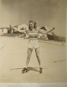 vintage skates... don't forget the skate key.  :)