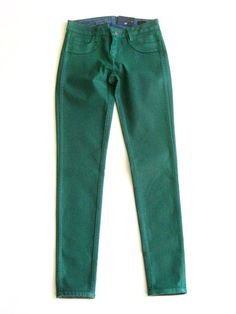 Bleulab Alumna Curve Reversible Jean - Waxed Kelly Green