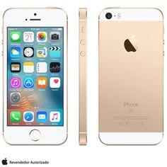 (Fast Shop.com.br) Iphone Se Dourado, Com Tela De 4 ? , 4g, 64 Gb E Câmera De 12 Mp - Mlxp2bz / a - de R$ 2849.05 por R$ 2695.29 (6% de…