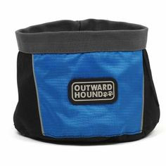 Kyjen Outward Hound Port A Bowl for Dogs Camping and Travel Hot Summer 48oz #KyjenOutwardHound